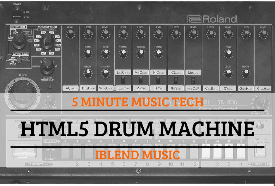 5MTT2 – HTML5 Drum Machine