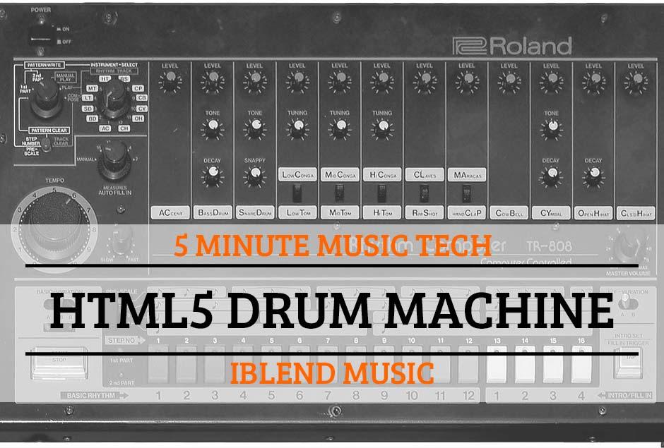 5MTT2 – HTML5 Drum Machine